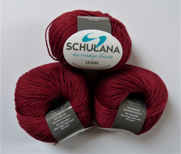 Lilana von Schulana 50g, Fb. 05 Rot