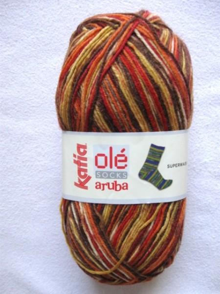 Katia Sockenwolle Aruba 150g, Fb. 51