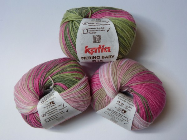 Katia Wolle Merino Baby plus 50g, Fb. 210