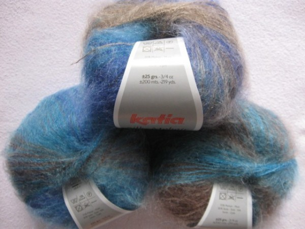 Katia Wolle Silk-Mohair 25g, Fb. 705