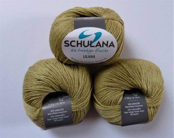 Lilana von Schulana 50g, Fb. 02 Gelbgrün