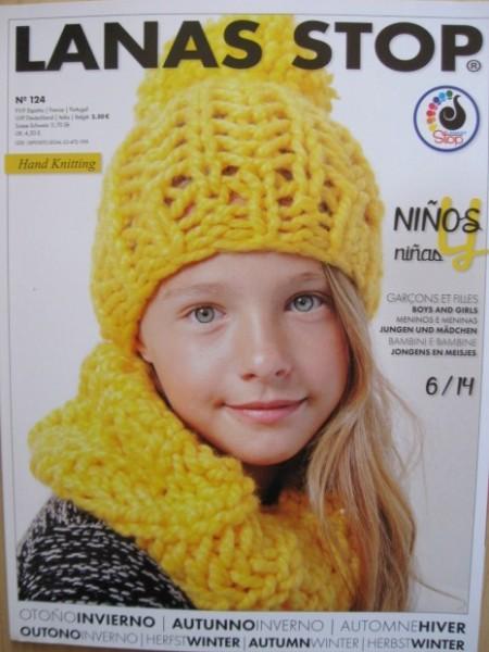Lanas Stop Strickheft für Kinder Nr. 124