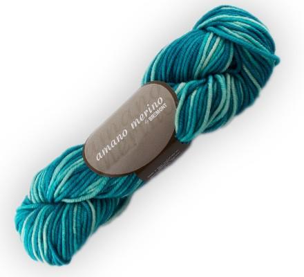 Bremont amano merino Wolle 50g, handgefärbt Fb. 706