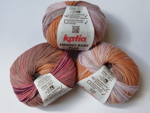 Katia Wolle Merino Baby Plus 50g, Fb. 211