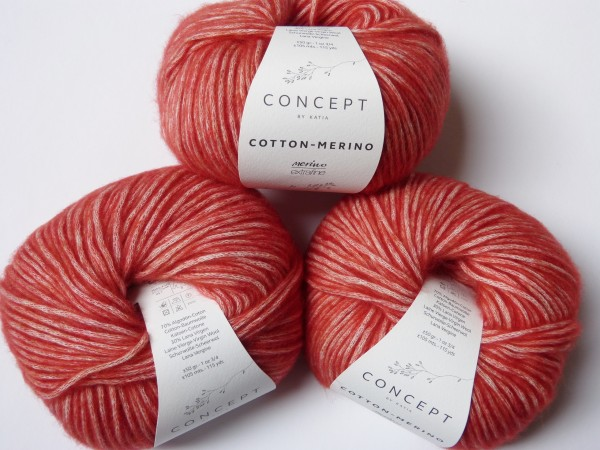 Katia Wolle Cotton-Merino 50g, Fb. 120