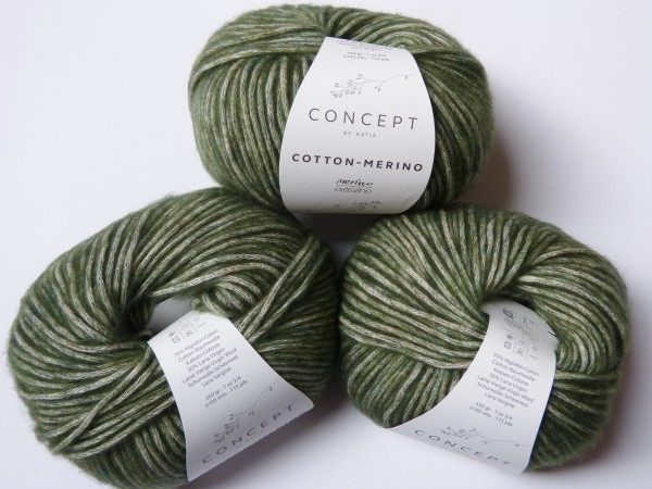 Katia Wolle Cotton-Merino 50g, Fb. 122