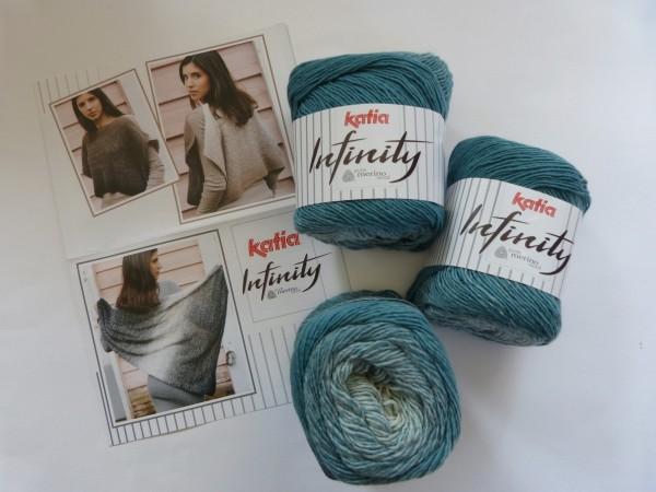 Katia Wolle Infinity 100g, Farbe 102