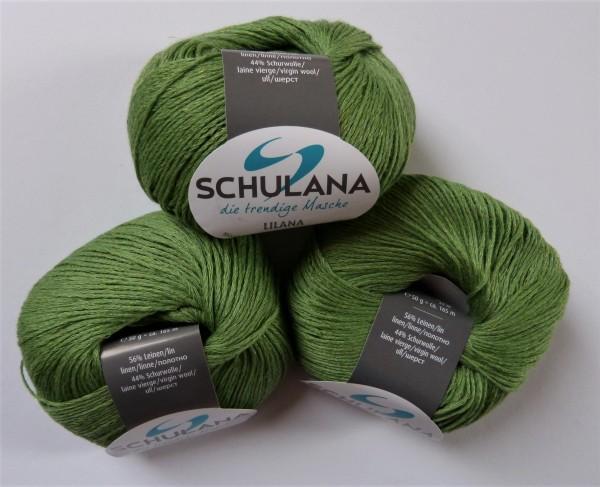 Lilana von Schulana 50g, Fb. 03 Grasgrün