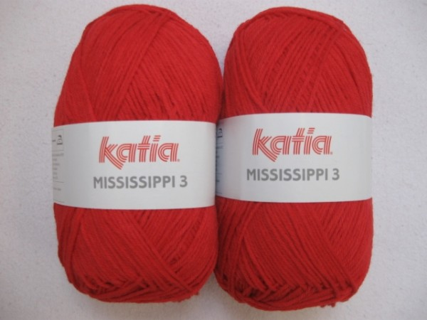 Katia Wolle mississippi-3 50g, Fb. 314