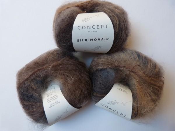 Katia Wolle Silk-Mohair 25g, Fb. 716