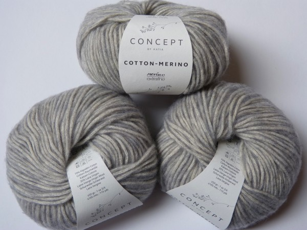 Katia Wolle Cotton-Merino 50g, Fb. 106