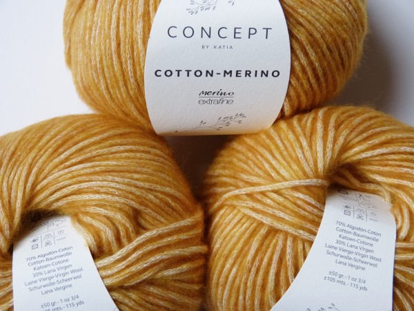Katia Wolle Cotton-Merino 50g, Fb. 121