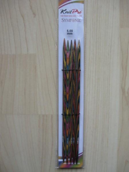 Knit Pro Nadelspiel aus Holz 5,00mm/20cm