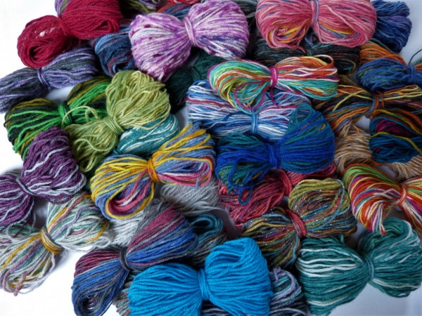 Wundertüte Sockenwolle 100g