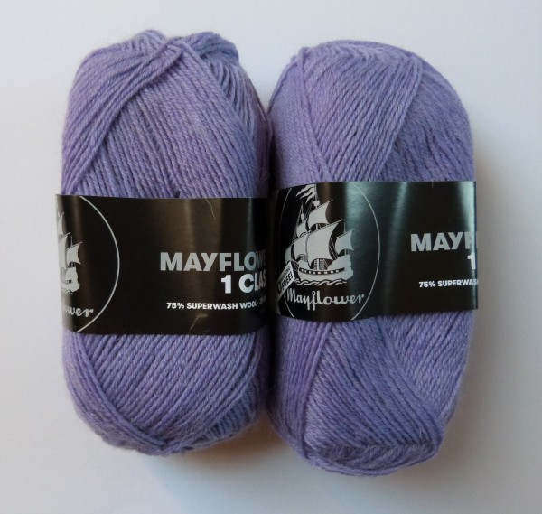 Mayflower Sockenwolle First Class 50g, Fb. 08 Lupine