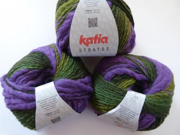 Katia Wolle Stratos 100g, Fb. 100