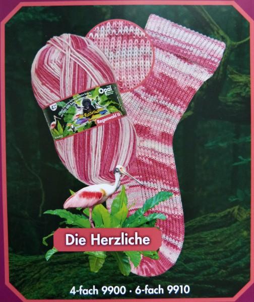 Opal Sockenwolle Regenwald 16 Die Rasselbande 100g, Fb. 9900