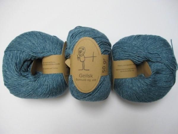 Geilsk Wolle Bomuld og uld 50g, Fb. C 9