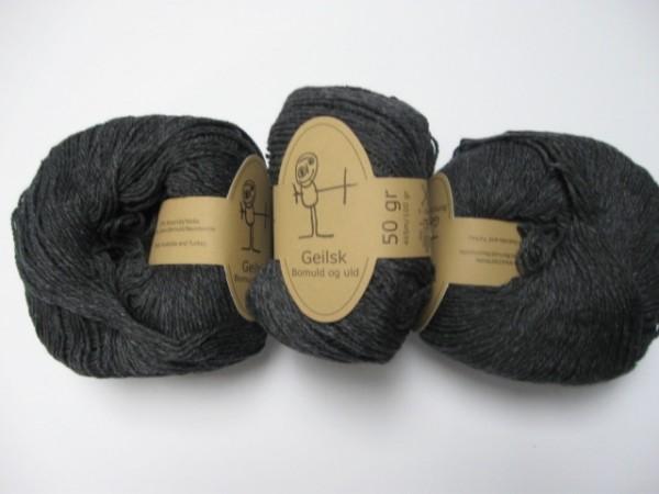 Geilsk Wolle Bomuld og uld 50g, Fb. C 1