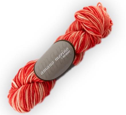 Bremont amano merino Wolle 50g, handgefärbt Fb. 704