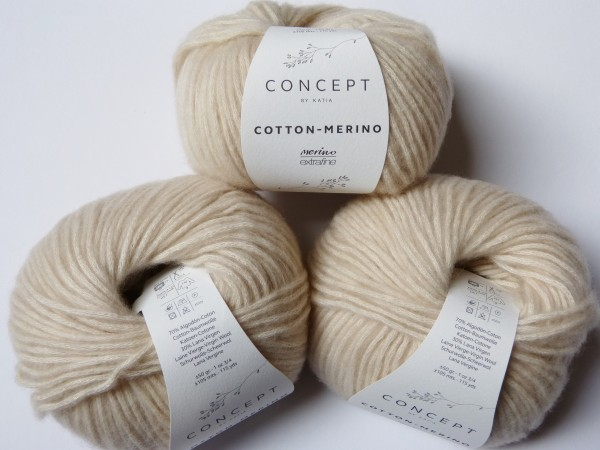 Katia Wolle Cotton-Merino 50g, Fb. 101