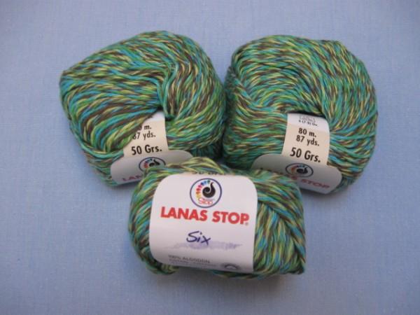 Lanas Stop Six 50g, Fb. 208