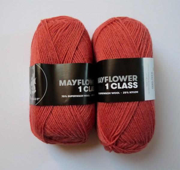 Mayflower Sockenwolle 1 Class 50g, Fb. 10 Gebranntes Sienna