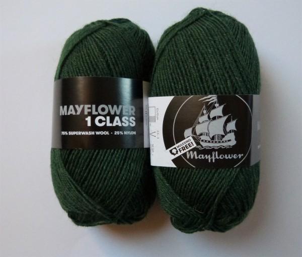 Mayflower Sockenwolle 1 Class 50g, Fb. 20 Tannengrün