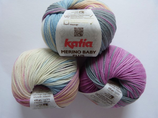 Katia Wolle Merino Baby plus 50g, Fb. 203
