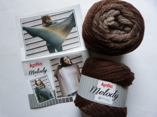 Katia Wolle Melody 100g, Fb. 200