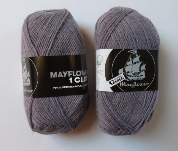 Mayflower Sockenwolle 1 Class 50g, Fb. 11 Teerose
