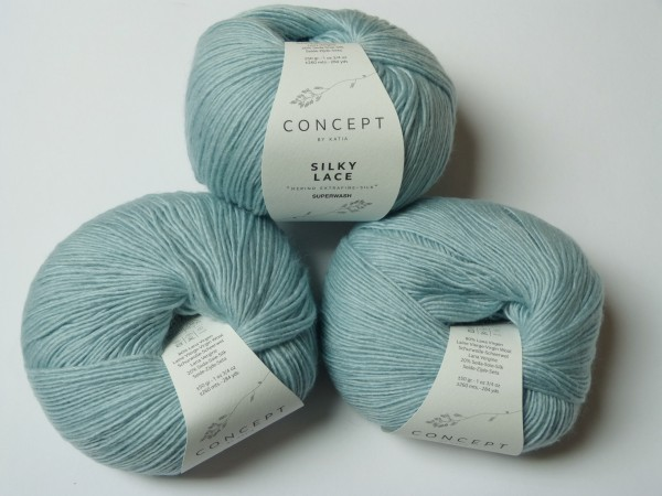 Katia Wolle Silky Lace 50g, Fb. 161