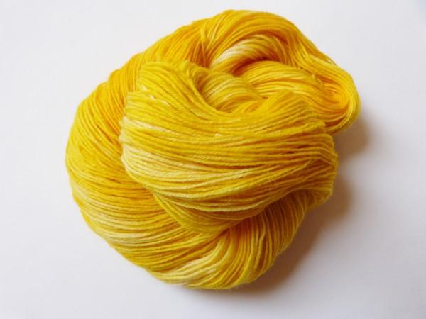 Sockenwolle handgefärbt Florina