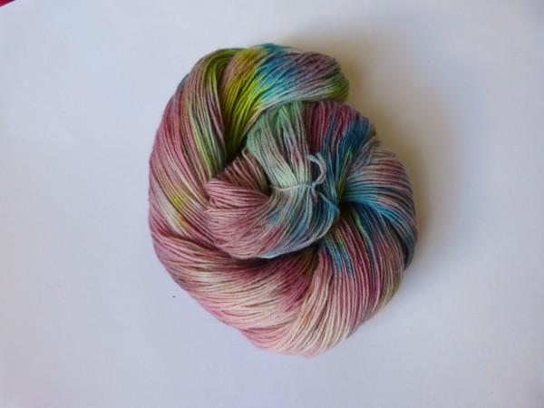 High Twist handgefärbt 100g, Monet