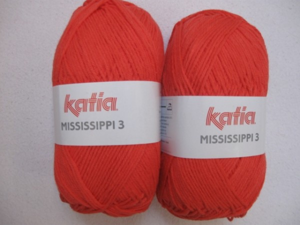 Katia Wolle mississippi-3 50g, Fb. 776