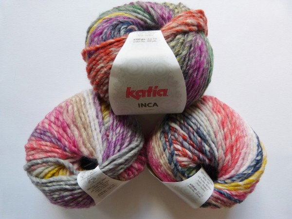 Katia Wolle Inca 100g, Fb. 125