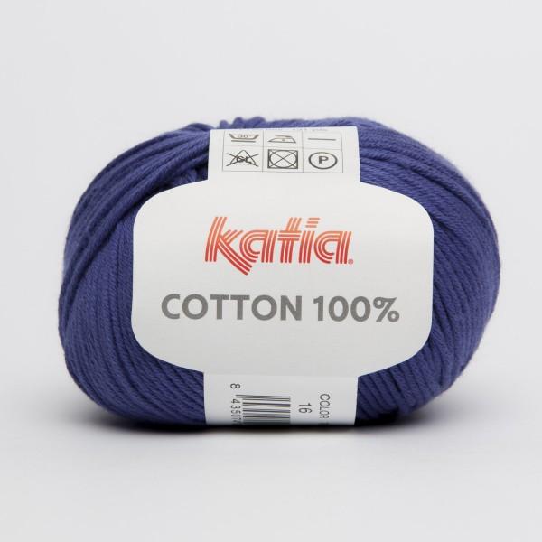 Katia Cotton 100% 50g, Fb. 16