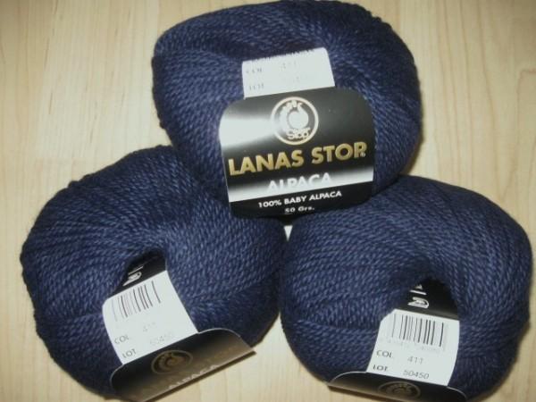Lanas Stop Alpaca 50g, Fb. 411