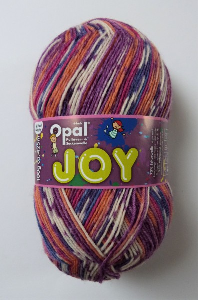 Opal Sockenwolle Joy 100g, Fb. 9983 Vergnügen