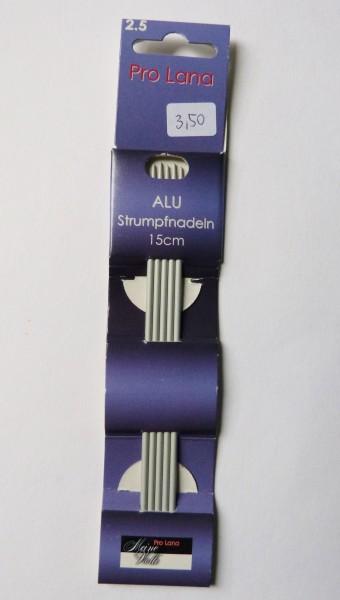 Pro Lana Nadelspiel Alu 2,5mm/15cm