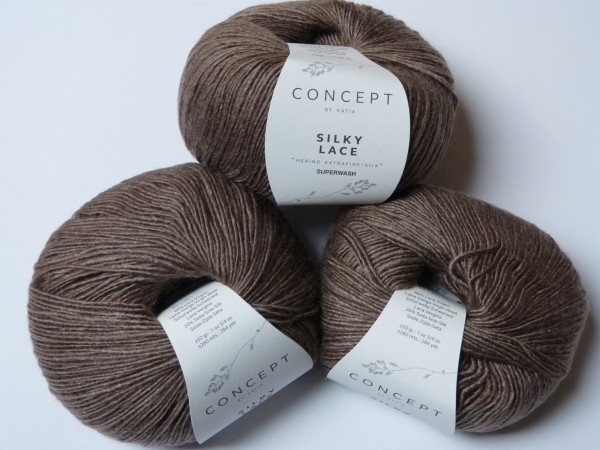 Katia Wolle Silky Lace 50g, Fb. 150