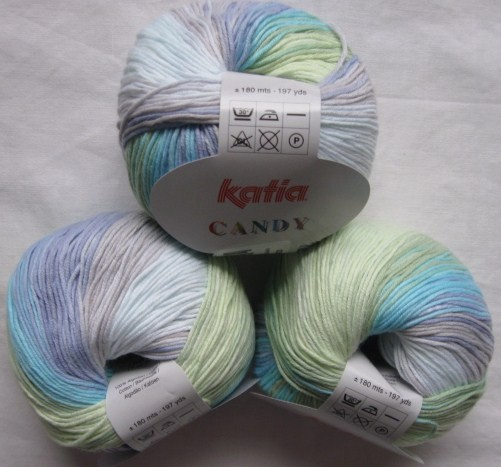 Katia Candy 50g, Fb. 657