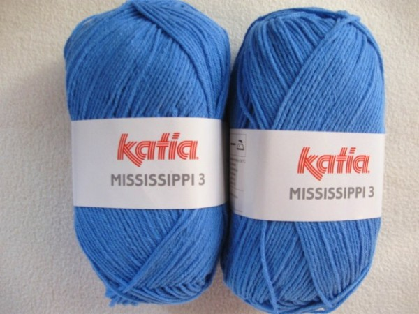 Katia Wolle mississippi-3 50g, Fb. 769