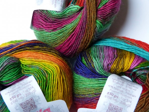 Katia Wolle Darling Rainbow 50g, Fb. 306