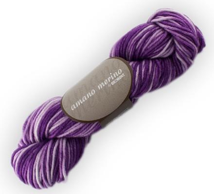 Bremont amano merino Wolle 50g, handgefärbt Fb. 701