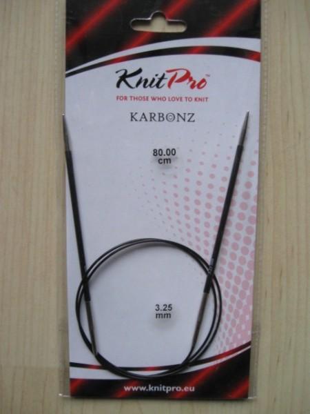 Karbonz Rundstrick 3,25mm/80cm