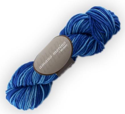 Bremont amano merino Wolle 50g, handgefärbt Fb. 707
