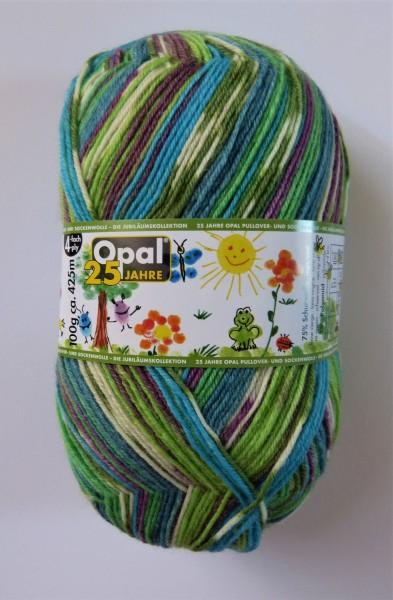 25 Jahre Opal Jubiläumskollektion 100g, Fb. 11043 Gemalte Glückwünsche