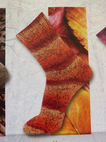 Katia Sockenwolle Leaves 150g, Fb. 61