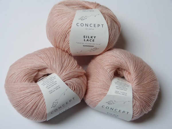 Katia Wolle Silky Lace 50g, Fb. 158